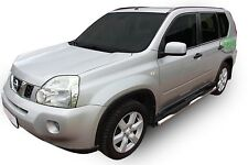Nissan X-Trail T31 2007-2013 barres latérales chrome inox Side Steps Paire