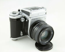 Pentacon Six TL with Arsat C 80/2.8 lens and Original Leather Case- Excellent!