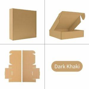 10pcs Corrugated Box Kraft Paper Gift Boxes Crafts Customized Size DIY Crafts