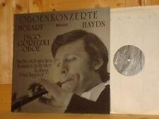 Mozart Haydn Oboe Concertos GORITZKI Audiophile Swiss CLAVES TURICAPHON LP NEW!