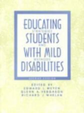 Educating Students With Mild Disabilities: Strategies and Methods