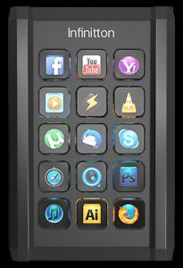 Infinitton Screen keyboard - LCD key caps