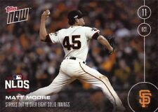 2016 Topps Now #569 Matt Moore Baseball Card - Giants Pitcher - Only 317 made!