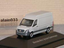 NEW MERCEDES SPRINTER Kastenwagen Silver HERPA 1:87 Ref B66004159