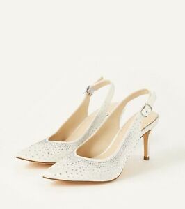 Monsoon Bridal Shoes. Spare Gems And Heel Tips. Boxed Size 7