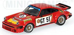 Porsche 934 European Gt Winner 1976 Hezemans #51 ADAC 300km 1:43 Minichamps