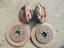 MGF / MG TF 4 POT AP RACING FRONT BRAKE CALIPERS PAIR WITH DISCS PADS  & BOLTS