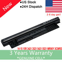 6Cell Battery for Dell Inspiron 15-3521 15 3000 15-3537 15-3541 15-3542 14 N3421