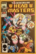 TRANSFOMERS HEAD MASTERS #3 (of 4) (1987 MARVEL Comics) ~ VG/FN Book