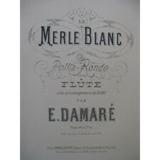 Damare Eugene the Merle White Polka Rondo Piano Small Flute Piccolo Music Sh