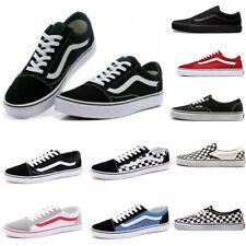 2021 NEW Van Old Skool Skate Shoes Classic Canvas Sneakers Size UK3.5-UK9