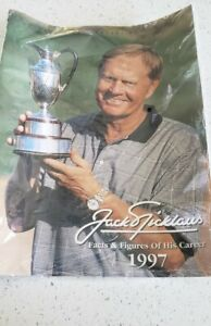 Jack Nicklaus Facts And Figures Of His Career 1997 Magazine New Sealed
