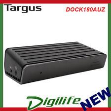 Targus USB-C DUAL VIDEO 4K DOCKING STATION LAPTOP CHARGING DOCK180AUZ