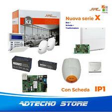 AMC Kit X824IP Centrale 8/24 zone+ Tastiera K-Blue e modulo IP