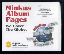 2000 All American Parte 4 Libretto Fogli Minkus Album Supplemento Pagine