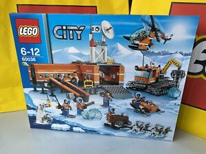 LEGO 60036 - City - Arctic Base Camp - Brand new Sealed MINT RARE