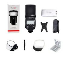 Universal LCD Flash Speedlight for Canon Nikon Pentax Olympus Cameras with GIFTS