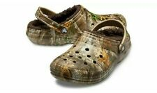 Crocs Winter Lined Realtree® Edge Clog - Men's Size 11 - Women's 13 -