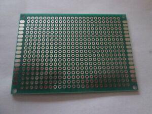 Plaque d'essai époxy circuit imprimé double face 50mmX70mm (4)