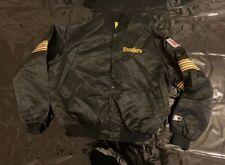 Starter Jacke Pittsburgh Steelers Size L NFL 🏈🏈 Retro Vintage Steelers JACKET