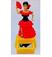 2PC fun characters mexican maracas BOBBLEHEAD TOY GIFT SOLAR POWER CAR OFFICE