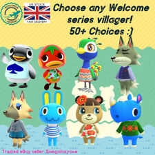 🍃 Animal Crossing Amiibo Welcome Series Custom Made NFC Card, 50+ Choices :)
