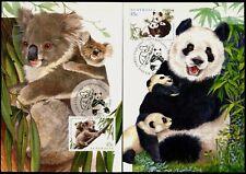 Australia Maximum / Maxi Cards - 1995 Australia & China Joint Stamp Issue