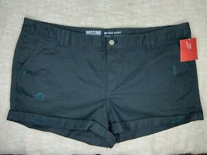 Womens Mossimo Supply Co. Mid Rise Short 18 Black