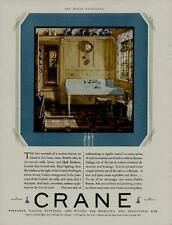 1929 Crane Bathroom Fixtures Ad / The Beauty Of A Modern Crane Kitchen.N128