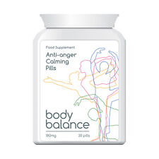 BODY BALANCE ANTI ANGER CALMING PILLS STOP FRUSTRATION IRRITATION FEEL CALMER