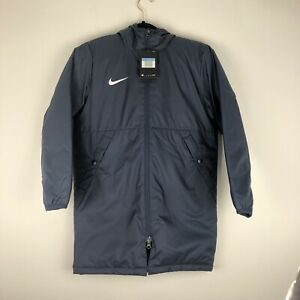 Nike Youth Unisex Rain SYN FL RPL PARK20 SDF Jacket Coat Medium Navy CW6158-010