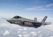 F-35 Lightning 2 Stealth Fighter Plane Jet Photo Poster Print ONLY Wall Art  A4