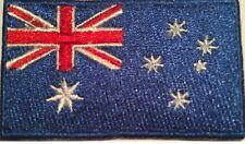 Australia Flag Small Iron On / Sew On Patch Badge 6 x 3.5cm Australian AIRSOFT