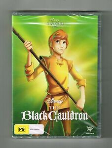 The Black Cauldron Dvd Disney - Brand New & Sealed