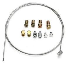 1 Set Universal Motorcycle Throttle Clutch & Brake Emergency Cable Repair Kit (Fits: American)