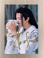 The Untamed 陈情令 Chen Ling Qing Wang YIBO Xiao Zhan Autographed Group Photo Gift