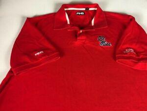 Ole Miss Alumni Association Polo Shirt Mens XL Ping Student Graduate Rebels