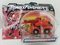 Transformers HIGHTOWER Autobot RID Robots In Disguise Hasbro NOC 2001 Level 3