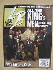 LIVING BLUES Magazine #200 (2009) THE B.B. KING BAND, Robert Ward, Snooks Eaglin