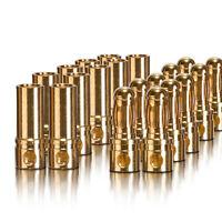 Goldkontakt Verbinder Stecker Buchse 3.5 mm 10 Paar partCore 100002