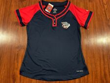 Majestic Women's Lehigh Valley Iron Pigs Jersey Size XL Baseball Phillies