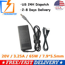 20V 3.25A 65W AC Adapter For IBM Lenovo ThinkPad Notebook Charger Power Supply p