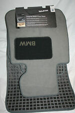2004 TO 2007 BMW 525i/530i Carpeted Floor Mats - FACTORY OEM ACCESSORIES - GRAY