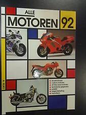 Alle Motoren 1992 door A. Rijks
