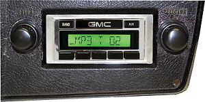 1980 81 82 83 84 85 86 87 1988 GMC Truck USA 230 Radio AM/FM MP3 Aux Custom