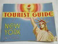 Vintage Tourist Guide of New York booklet  in colors