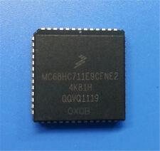 10 PCS NEW MC68HC711E9CFNE2 Encapsulation:PLCC-52,Microcontrollers #Q988 ZX