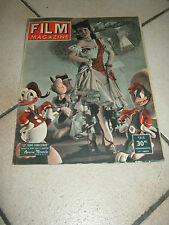 FILM MAGAZINE,1949,i TRE CABALLEROS, Three,Trois,MIRANDA,WALT DISNEY,Donald Duck