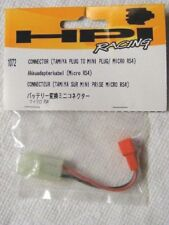 HPI RACING #1072 - CONNECTOR (TAMIYA PLUG TO MINI PLUG/ MICRO RS4)
