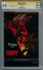 HELLBOY IN HELL #1 VARIANT CGC 9.8 SIGNATURE SERIES SIGNED MIGNOLA RON PERLMAN
